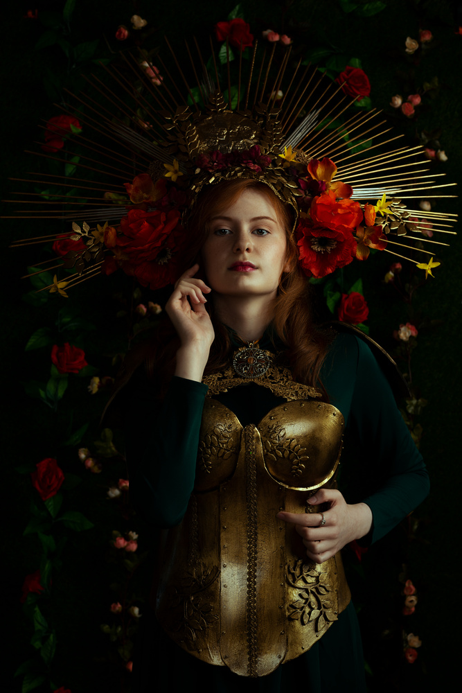 Warrior queen by walter Evans