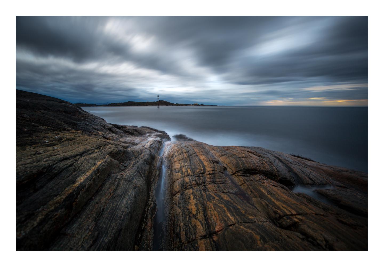 Nordic coastline by walter Evans