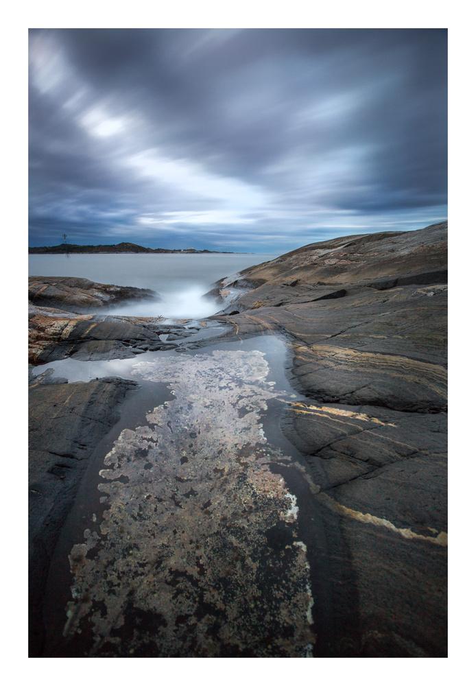Nordic coast line by walter Evans