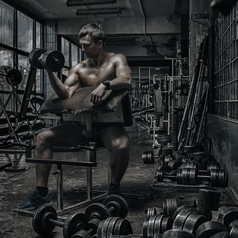 Men's gym by Nikolai Lev4enko