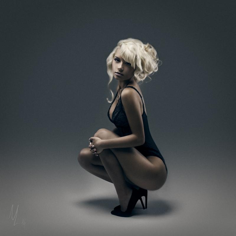 Classy blondy by Nikolai Lev4enko