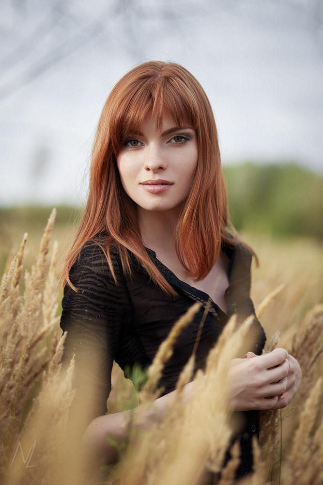 Redhead Kate by Nikolai Lev4enko