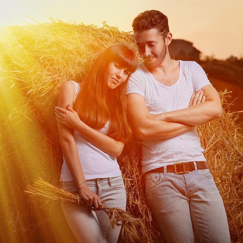 Summer Couple by Nikolai Lev4enko