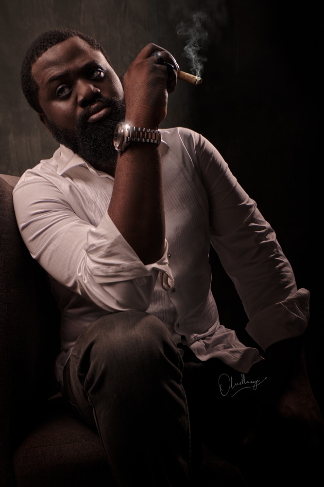 Portrait by Olumaiye Aladeniji