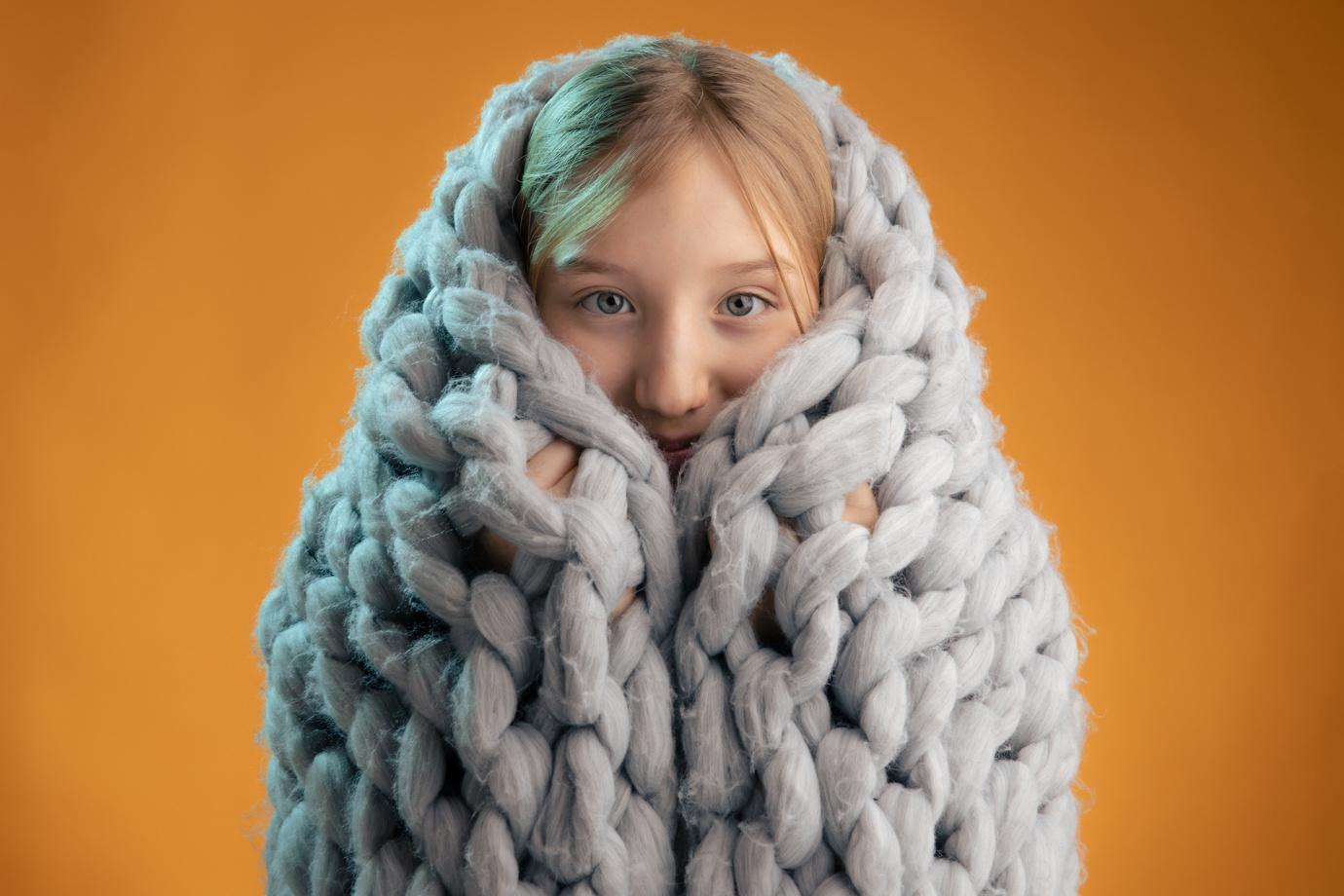 Sami blanket by Kenny McLeish