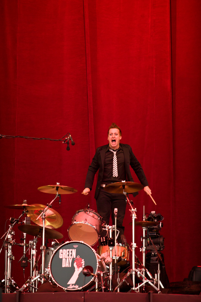 Tre Cool by Kenny McLeish
