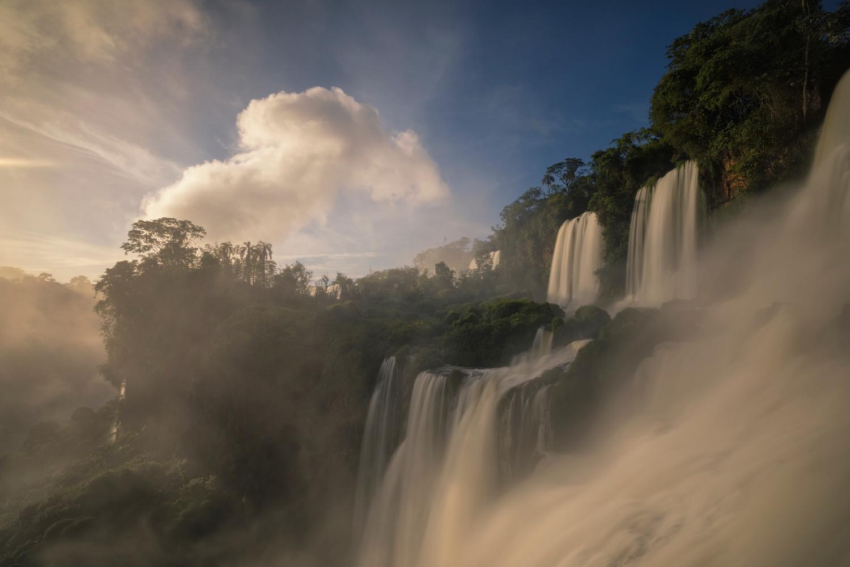 Majestic Falls by Erika Valkovicova