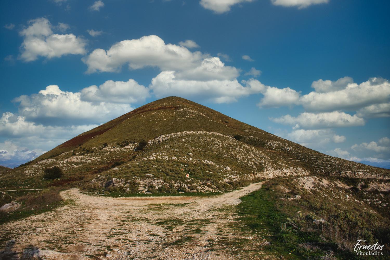 Mount Pantokrator corfu by ernestos vitouladitis