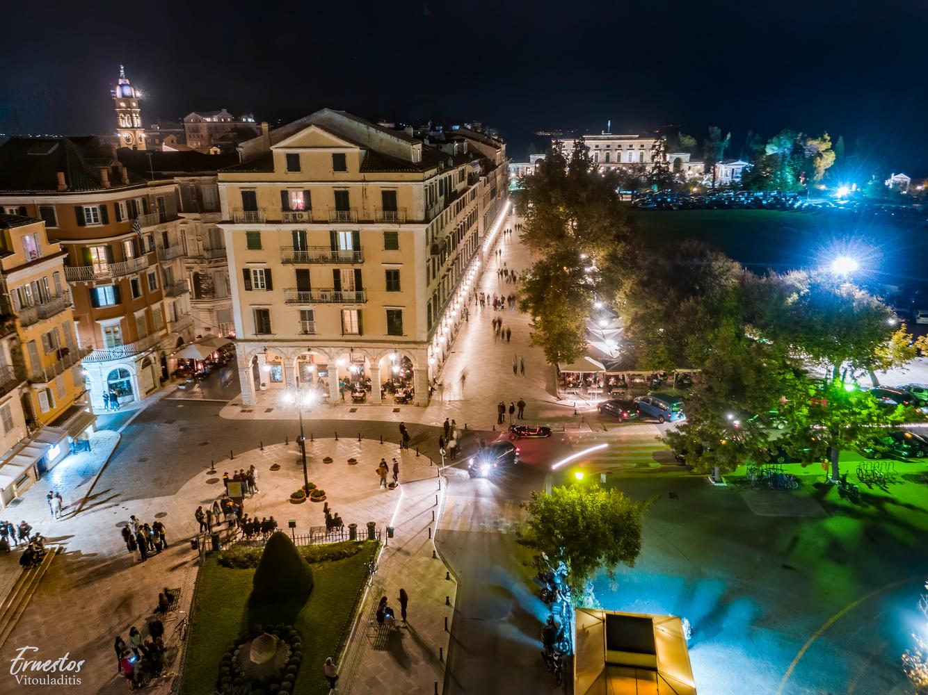 Corfu by night!!!! by ernestos vitouladitis