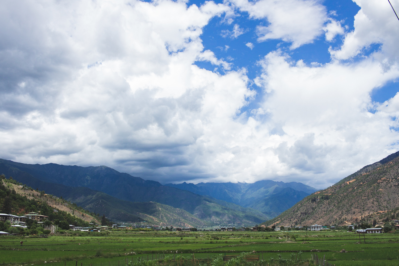 Beautiful Paro Landscape by Pragyan Bezbaruah