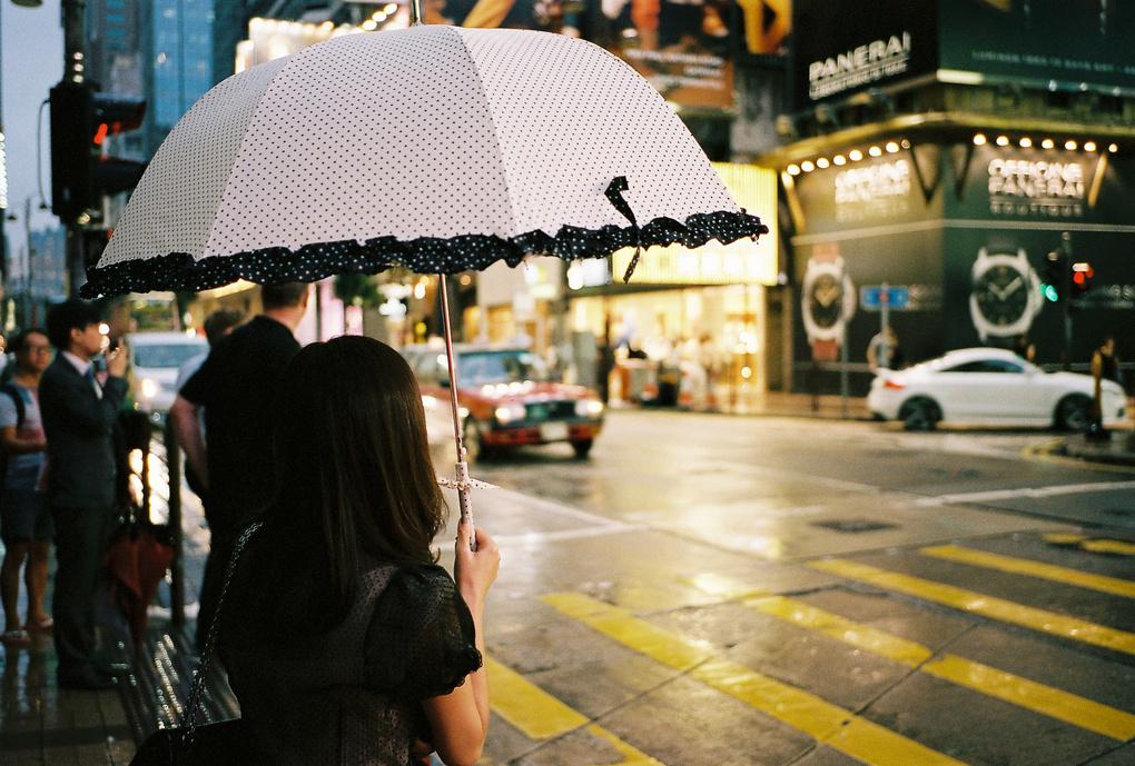 Hong Kong Umbrella Style by Zachary Rockwell