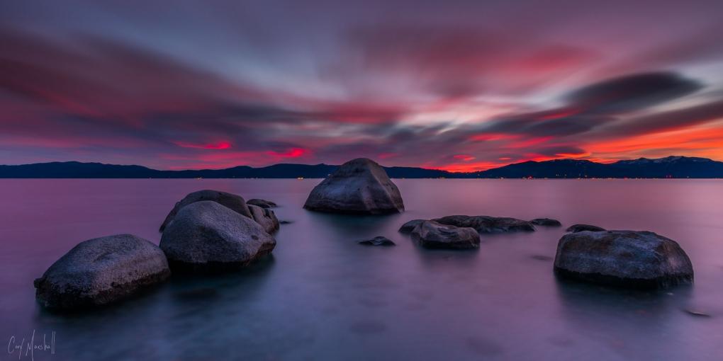 Tahoe Rocks by Cory Marshall