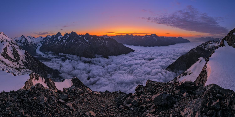 Anzac Peak Sunrise by Cory Marshall