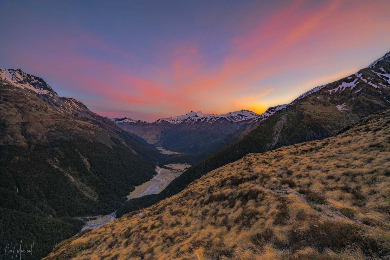Matukituki Valley by Cory Marshall