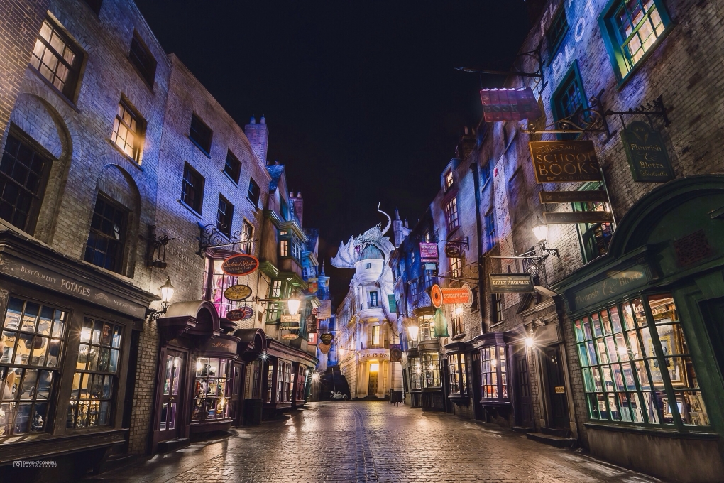 Diagon Alley Wizarding World of Harry Potter by David O'Connell