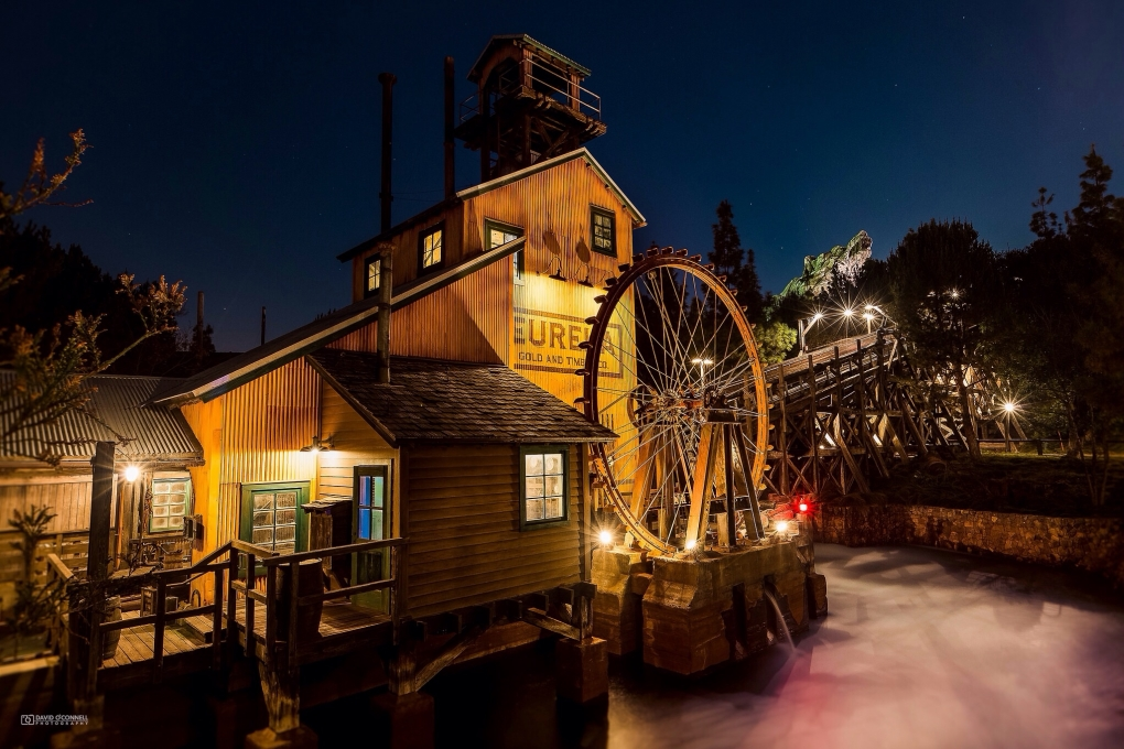 Eureka Gold and Timber Co. - Disney California Adventure by David O'Connell