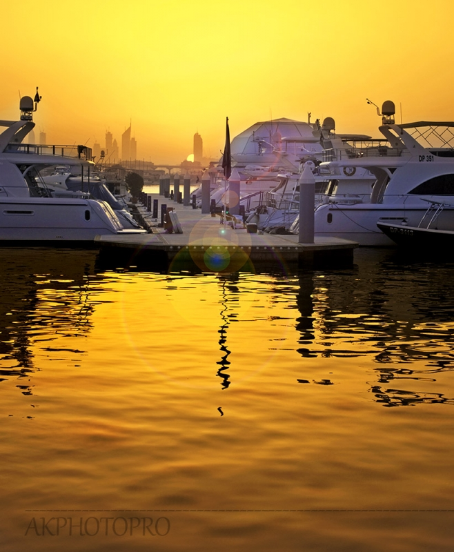 Dubai Marina by AK PhotoPro