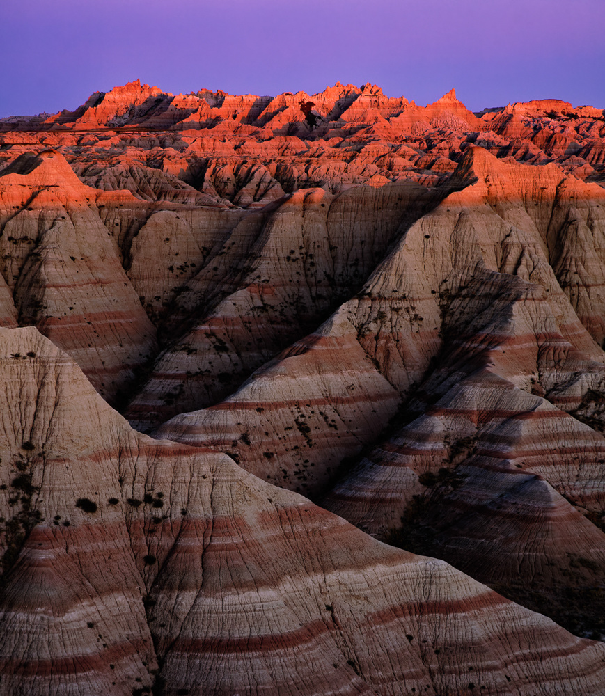 Badlands Sunset by Rob Lace