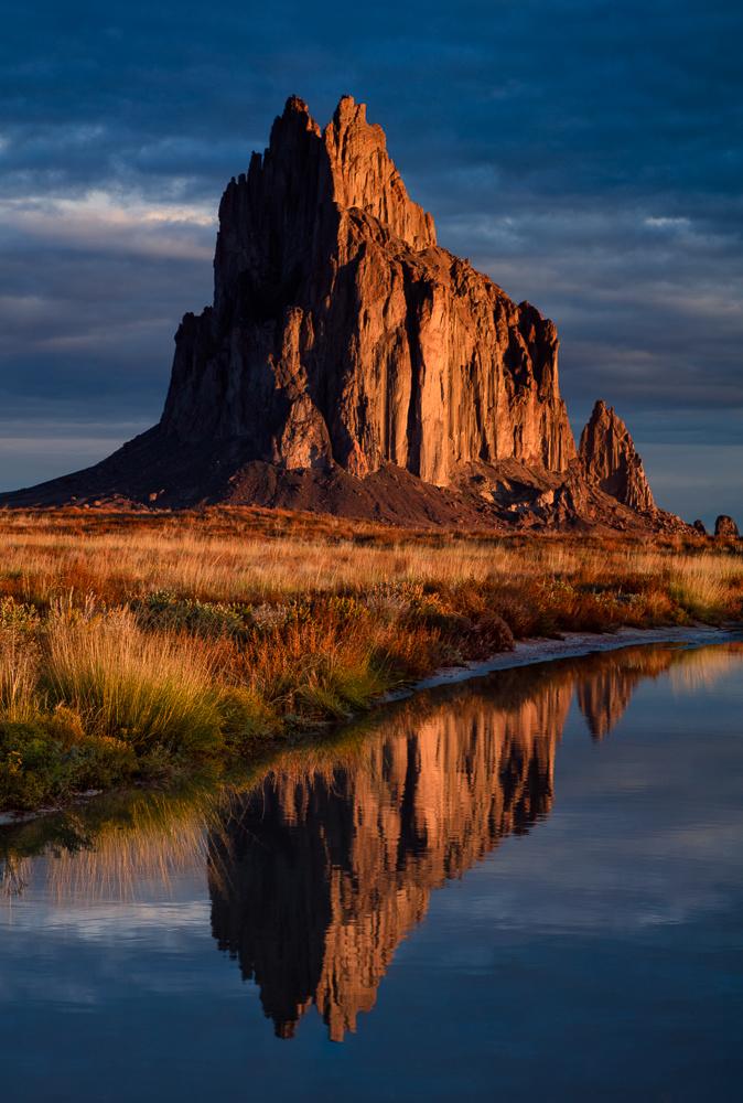 Shiprock Dawn by Rob Lace