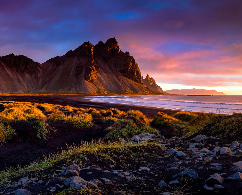 Vestrahorn Dawn by Rob Lace