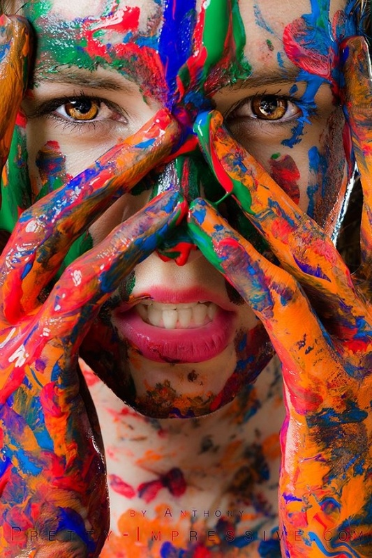 We are all made of color by Ant hony