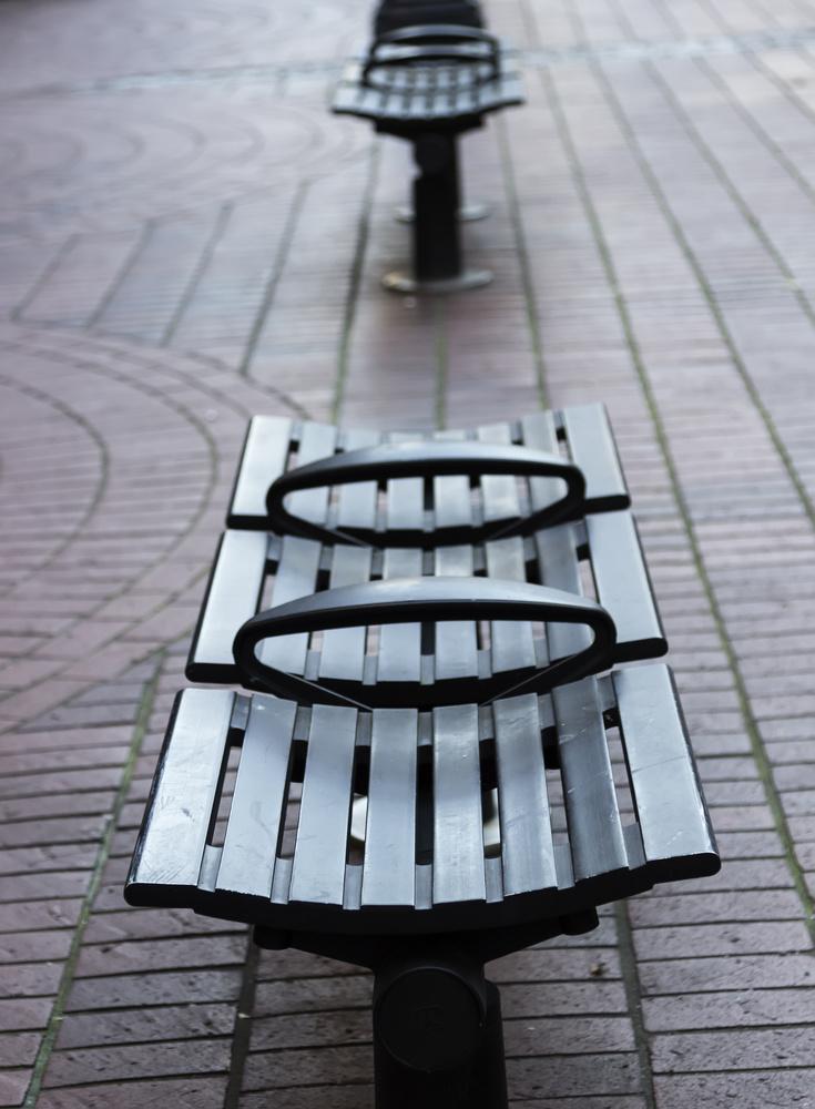 Pubblic bench in Vancouver by Dario Sani