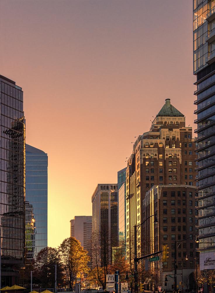 Vancouver city in November by Dario Sani
