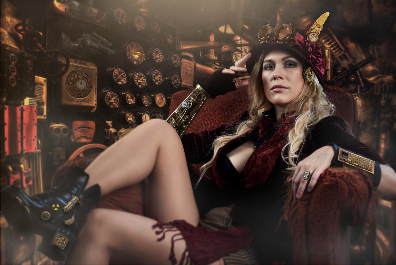 Steampunk Lilia by Fabian Bono