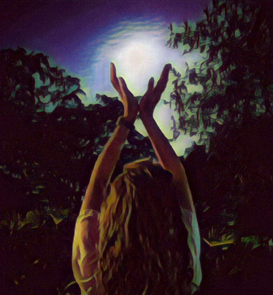 Moon in Her Hands by Kathy DITTON