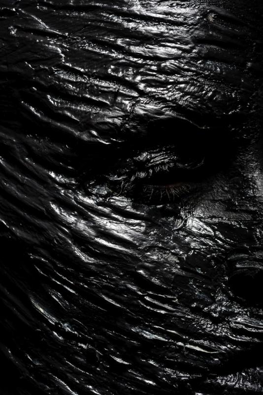 "A la ""Soulages"" by Erwan Ermel"