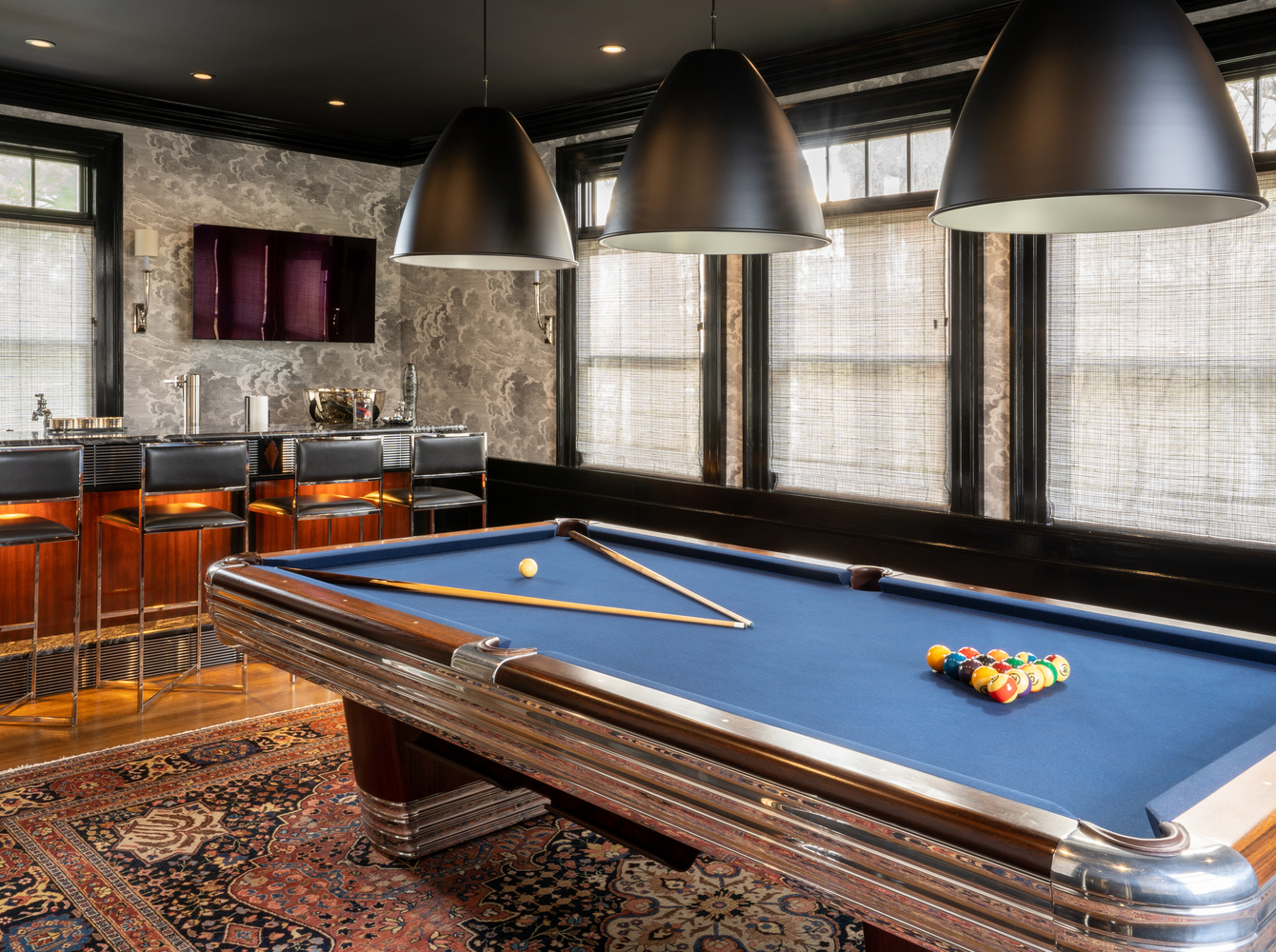 Bar/Pool Room by Chris Hill