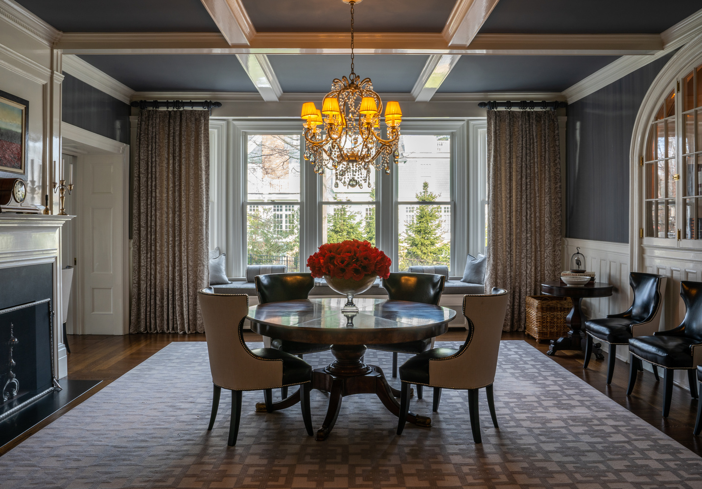 Dining Room by Chris Hill