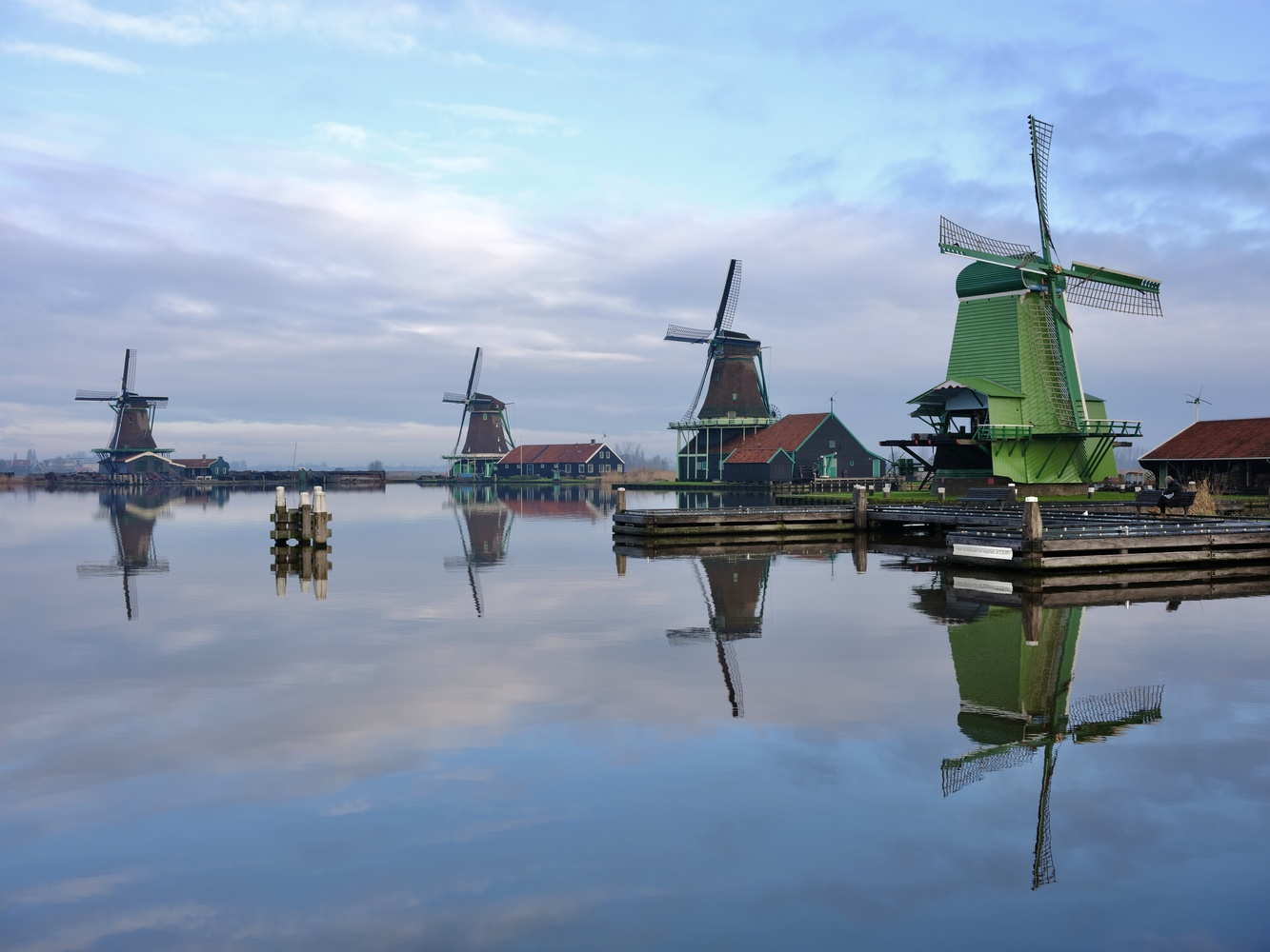 Zaanse Schans 2 by Cees Albers