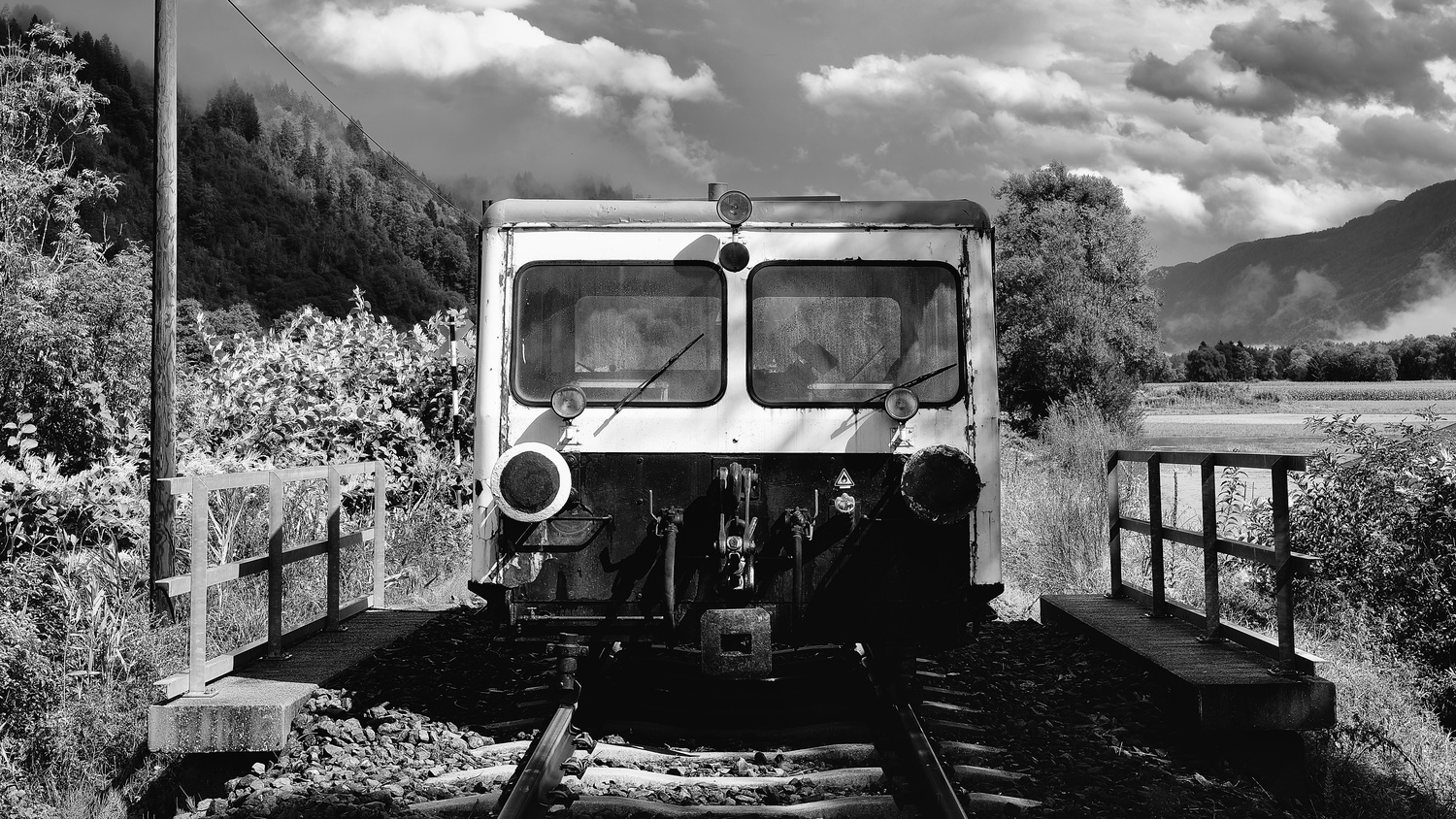Austria Train by Cees Albers