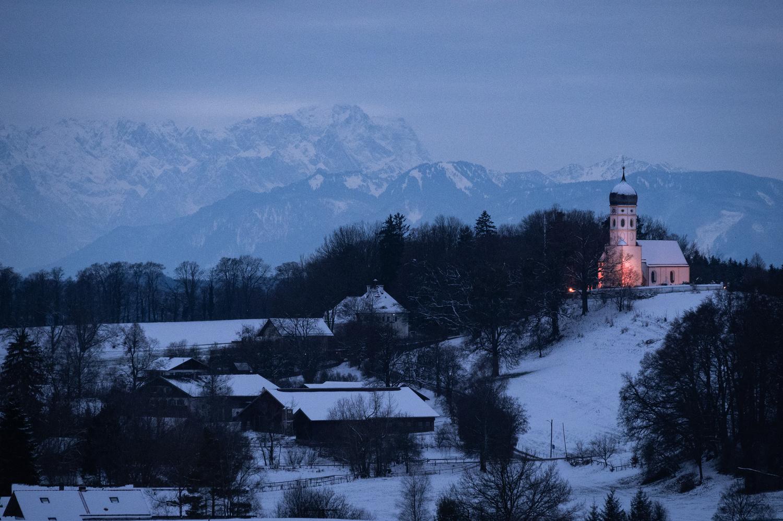Nightfall in Bavaria by Martin Weiss