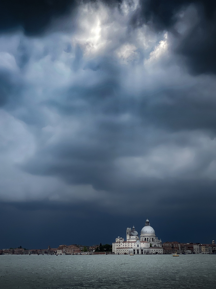 Venice before the storm by Martin Weiss