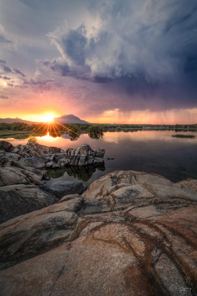 Watson Lake by Steve Berkley