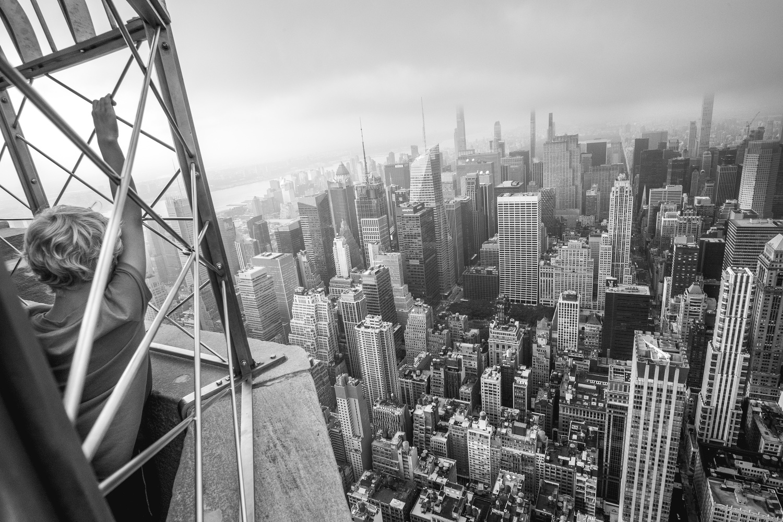 Gray Manhattan by David Piñeros