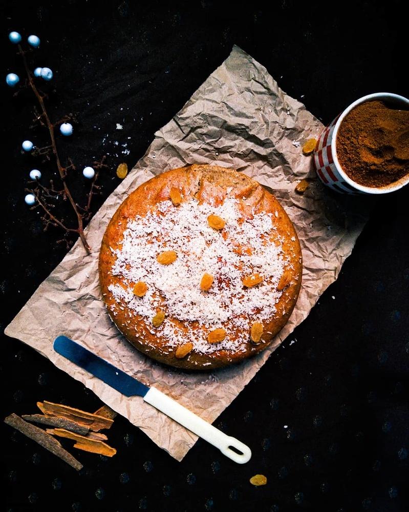whole whaet banana cake by Melapplon .
