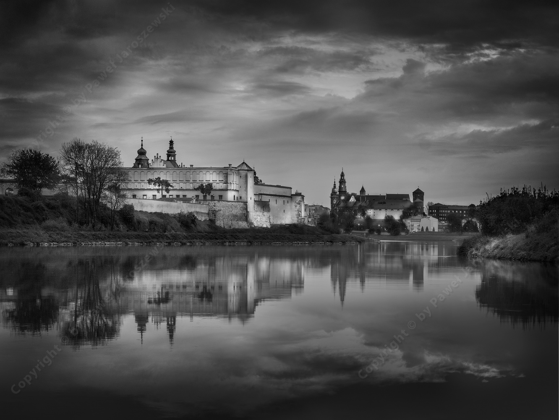 Monastery of the Norbertan Sisters and Wawel Royal Castle by Pawel Jaroszewski