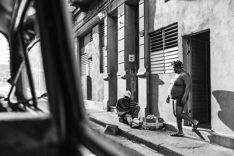 Havana Street Scene by Mike Ledford