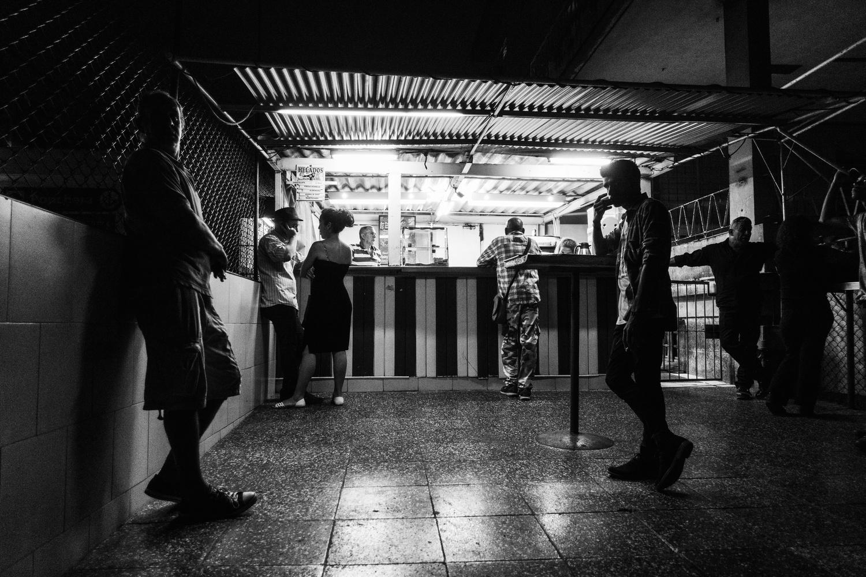 Vedado at Night by Mike Ledford
