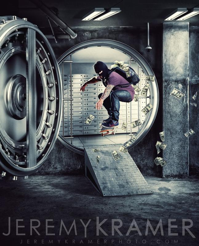 Skate Heist! by Jeremy Kramer