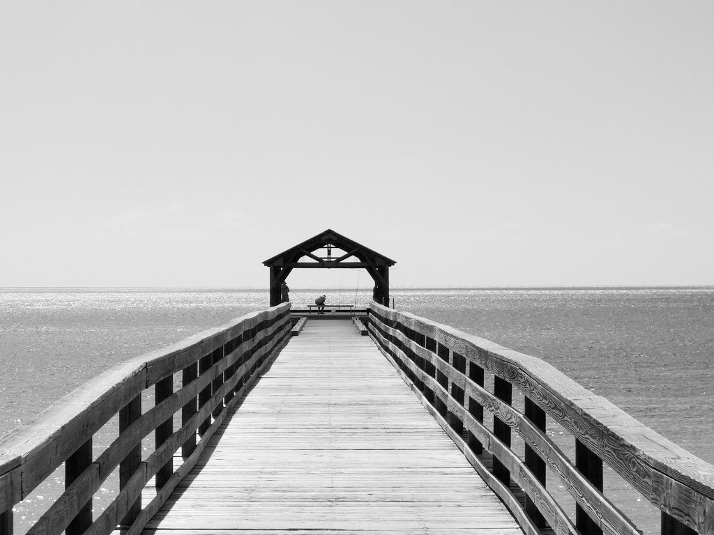 Fishing Pier by Eric Hammer