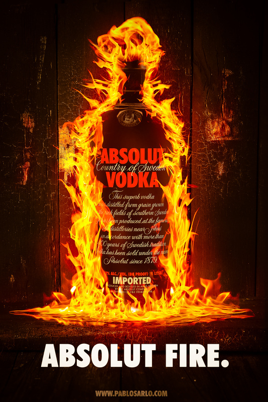 Absolut Fire by Pablo Sarlo
