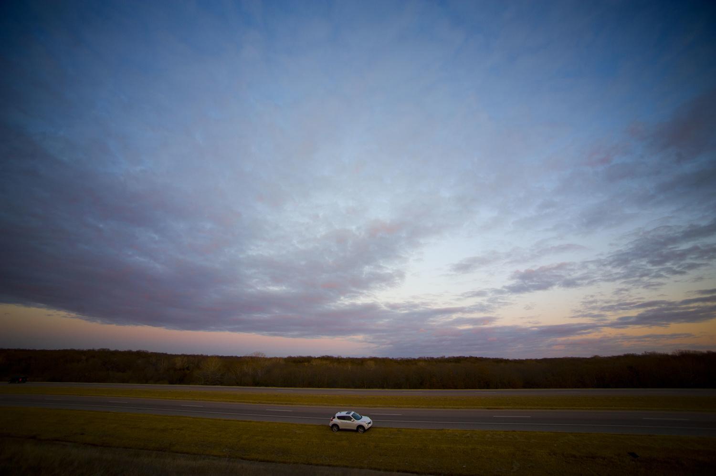 My car in winter by Richard Barron