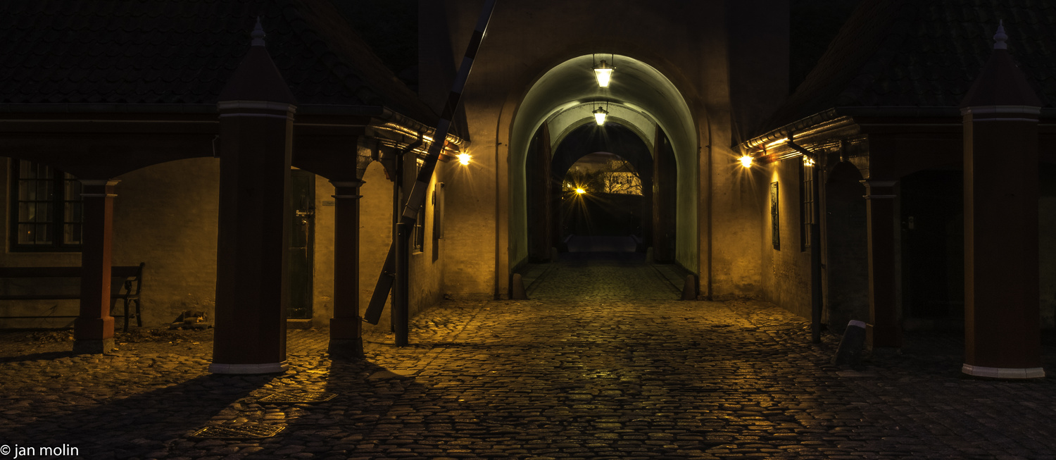 The old town by Jan Molin