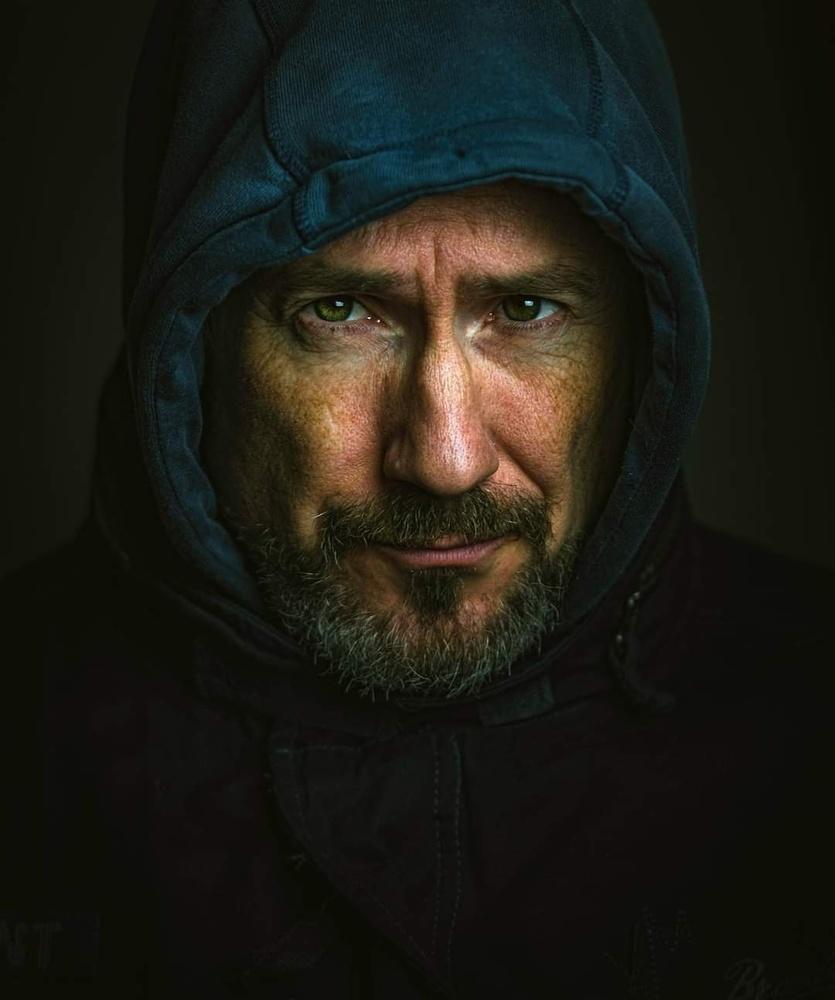 Self portrait by Jan Molin