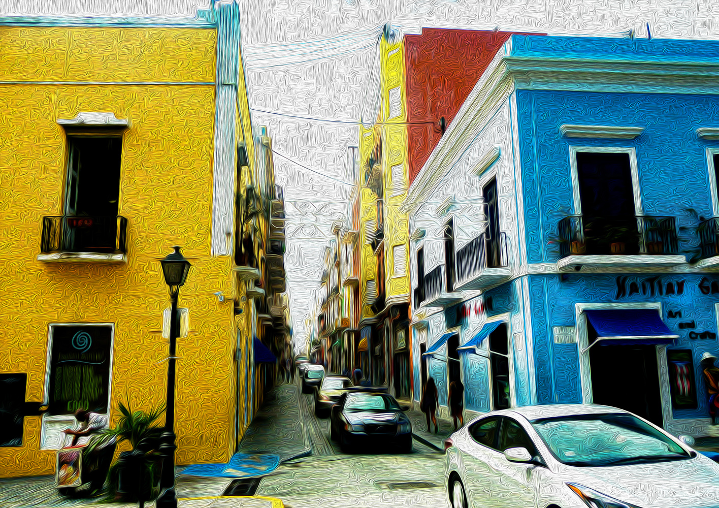 Streets of San Juan by Rohit Burra