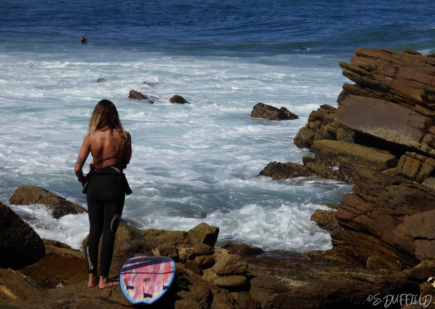 SURF GIRL by stephen duffield